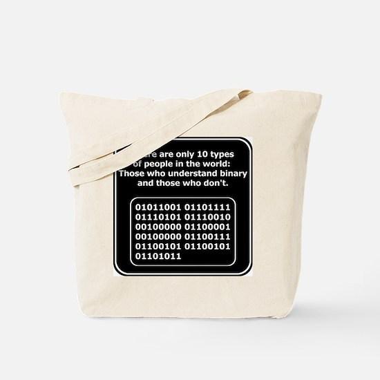 Understand Binary Tote Bag