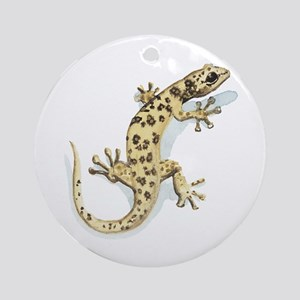 Leaf-Toed Gecko Ornament (Round)