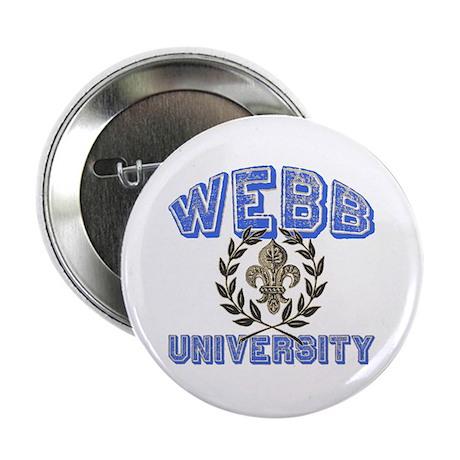 "Webb Last Name University 2.25"" Button"