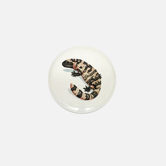 Gila Monster Mini Button