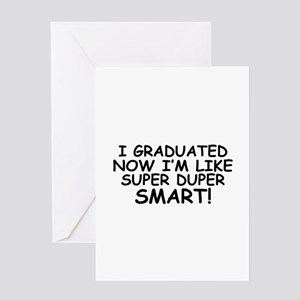 Super Smart Grad Greeting Card