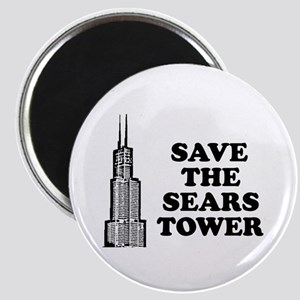 Save The Sears Tower Magnet