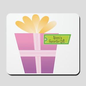 Nonni's Favorite Gift Mousepad