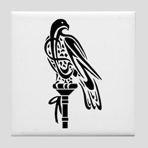 Falcon on Block Tile Coaster