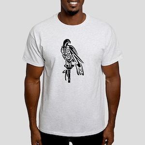 Falcon on Block Light T-Shirt