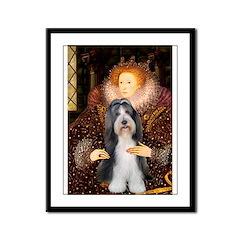 Queen / Beardie #6 Framed Panel Print