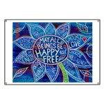 May All Beings Be Free Banner