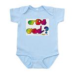 Rainbow GOT ASL? Infant Creeper