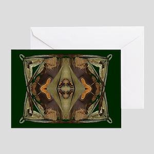 Hide - Greeting Card