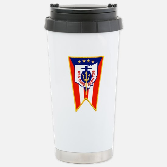 SSBN 726 Ohio Stainless Steel Travel Mug