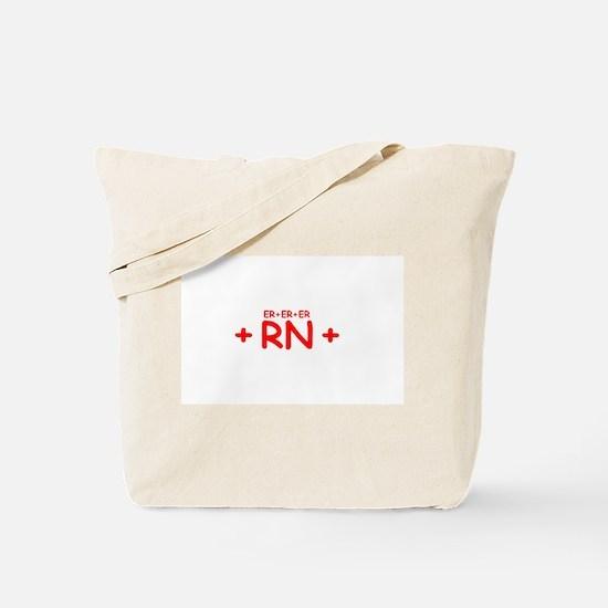 ER RN Tote Bag