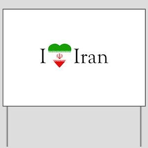 I Love Iran Yard Sign