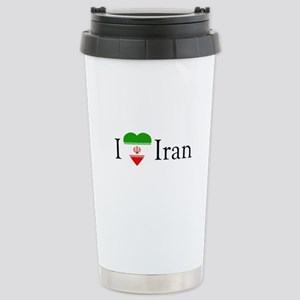 I Love Iran Stainless Steel Travel Mug