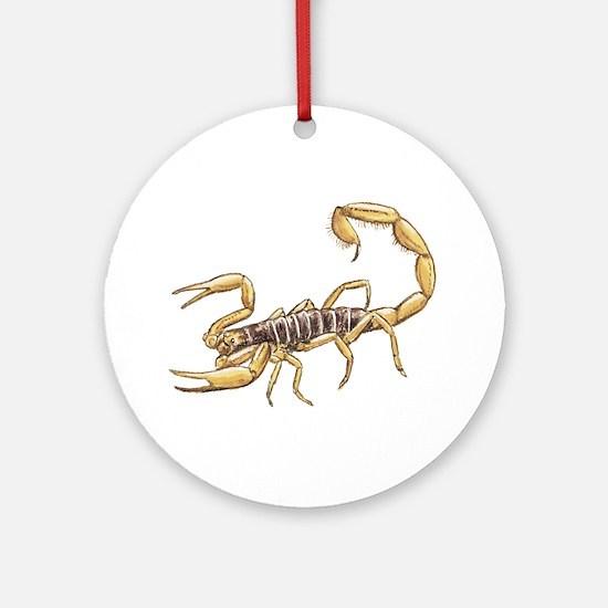 Scorpion Ornament (Round)