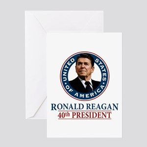 Ronald Reagan Note Card (blank inside)