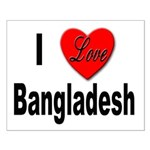 I Love Bangladesh Small Poster