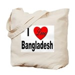 I Love Bangladesh Tote Bag