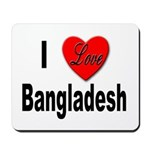 I Love Bangladesh Mousepad