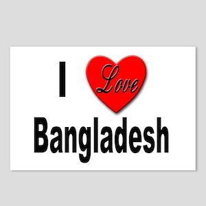 I Love Bangladesh Postcards (Package of 8)