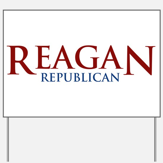 Reagan Republican Yard Sign