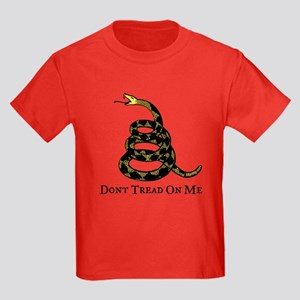 Gadsden Don't Tread On Me Kids Dark T-Shirt