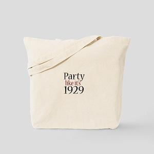 Party 1929 (Recession) Tote Bag