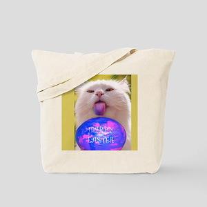 Easter Cat Tote Bag