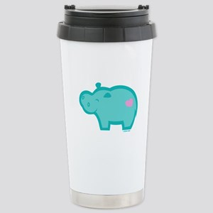 Hippo Stainless Steel Travel Mug