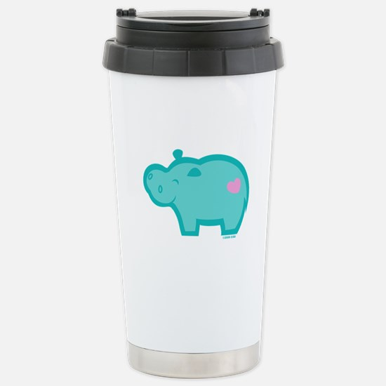 Hippo Stainless Steel Travel Mug