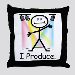 Theater Play Producer Throw Pillow
