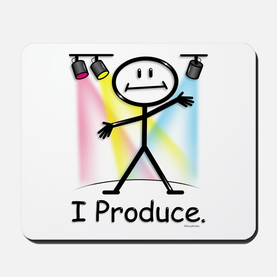 Theater Play Producer Mousepad