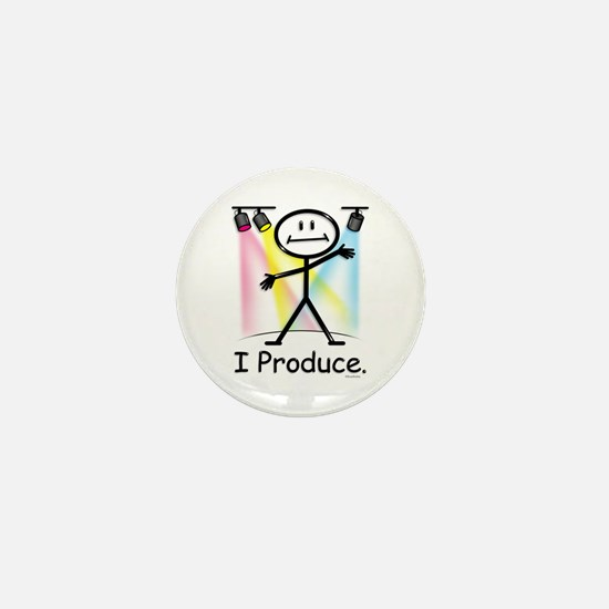 Theater Play Producer Mini Button