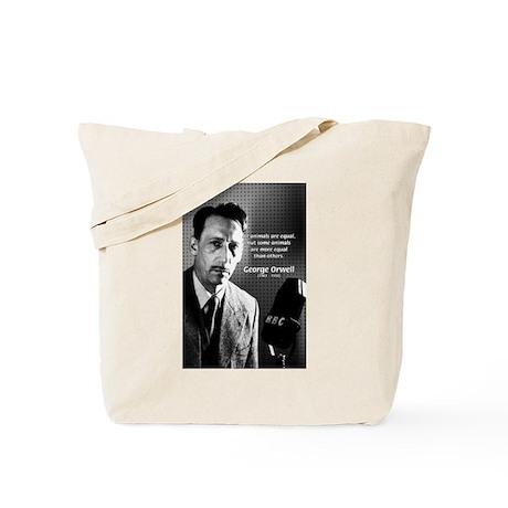 Animal Farm: George Orwell Tote Bag