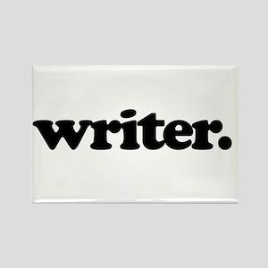 writer. Rectangle Magnet