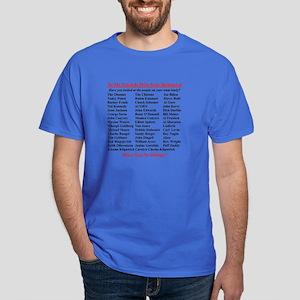 """""""Dems Hall of Shame"""" Dark T-Shirt"""