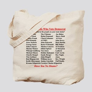 """Dems Hall of Shame"" Tote Bag"