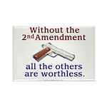 2nd Amendment Rectangle Magnet (10 pack)