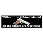 2nd Amendment Bumper Sticker (50 pk)