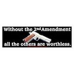 2nd Amendment Bumper Sticker (10 pk)