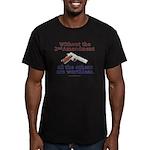 2nd Amendment Men's Fitted T-Shirt (dark)