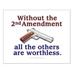 2nd Amendment Small Poster