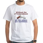 2nd Amendment White T-Shirt