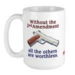 2nd Amendment Large Mug