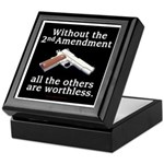 2nd Amendment Keepsake Box