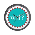 what the fig? Wall Clock