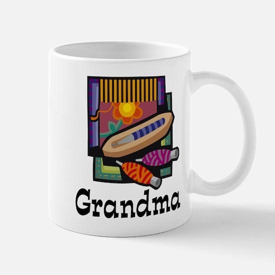 Weaving Grandma Mug