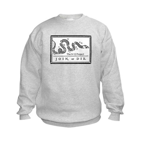 Join or die! The 912 project Kids Sweatshirt