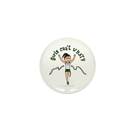 Light Green Runner Mini Button