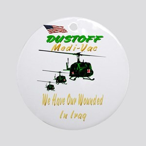 MediVac-IRAQ Ornament (Round)