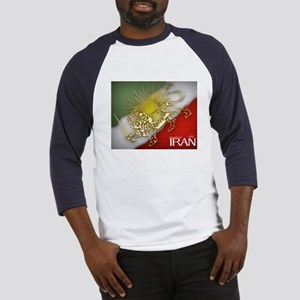 Iran Golden Lion & Sun Baseball Jersey